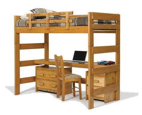 loft bed with desk 17 bunk beds with desks underneath for sale goedeker 39 s