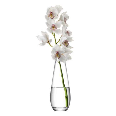 flowers in vase buy lsa international flower stem vase amara