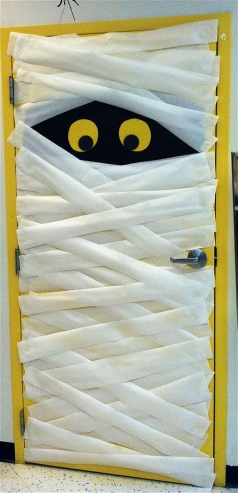 halloween mummy door pictures photos and images for