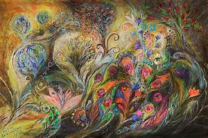 Israeli Jewish Art: Under the Wind by Israeli artist Elena ...