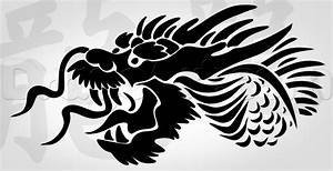 How to Draw a Tribal Chinese Dragon, Step by Step, Tribal ...