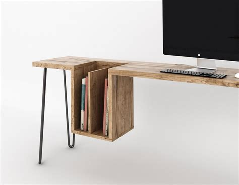 table bureau design bureau design bois 4 déco design