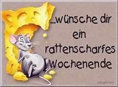 Wünsche dir ein rattenscharfes Wochenende