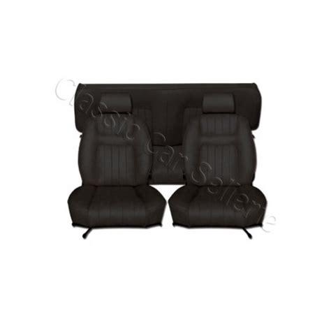siege triumph spitfire ensemble garnitures de sièges complet simili noir pour