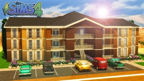 The Sims 4  House Building  Clarity Apartments Youtube