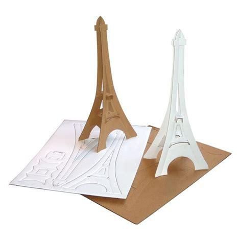 diy torre eiffel dyi papel accesorios craft crafts and sliceform tour eiffel torre eiffel de carton 51336 jpg 600 215 600 deco pinterest