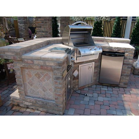 kitchen island grill grill island project grill island and tiles