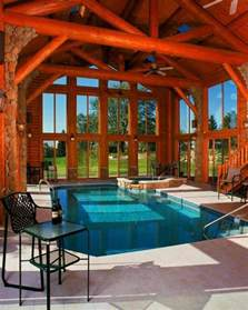 Large Log Home Floor Plans Photo Gallery by 30 Indoor Swimming Pools That Will Make You Envy Digsdigs