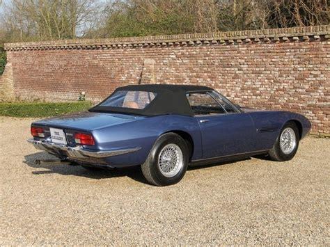 Maserati Ghibli Spyder For Sale by 1970 Maserati Ghibli Spyder 4 7 Classic Italian Cars For