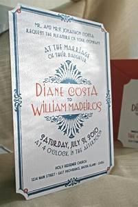 reserved for katy art deco vintage glam wedding With wedding invitations katy tx