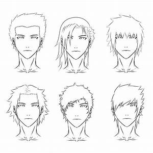 Anime hair styles by SKELLEBONES on DeviantArt