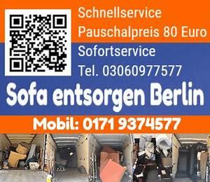 Elektrogeräte Entsorgen Berlin : sofa entsorgen berlin ~ Watch28wear.com Haus und Dekorationen