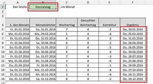 Excel Wochentag Berechnen : datumsberechnung spezial teil 1 der tabellen experte ~ Haus.voiturepedia.club Haus und Dekorationen