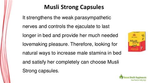 26034 how to increase stamina in bed benefits of herbal musli capsules to increase stamina