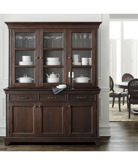 dining room buffets and hutches winnetka buffet with hutch crate and barrel want to put