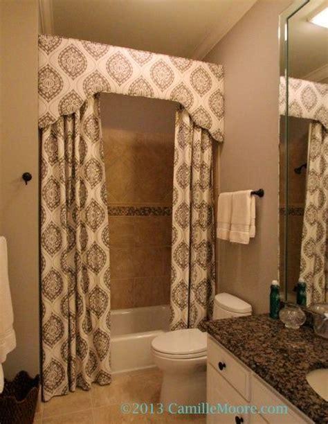 shower curtain  cornice design  lori paranjape