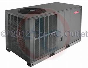 2 5 Ton 14 Seer Goodman Package Air Conditioner Gpc1430h41
