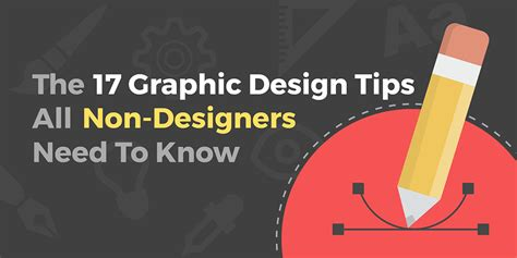graphic design tips the 17 graphic design tips all non designers need to