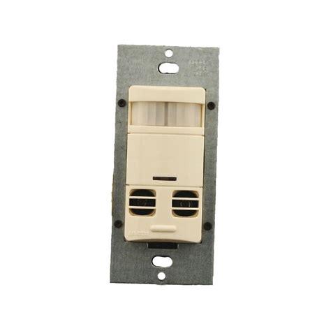 sensor light switch leviton multi technology wall switch motion sensor no