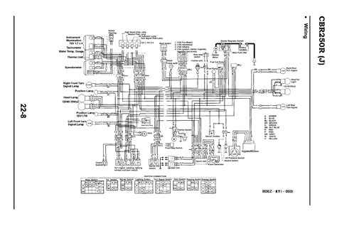 1988 honda cbr250rj wiring question
