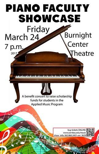 cerritos college piano faculty showcase coming cerritos college