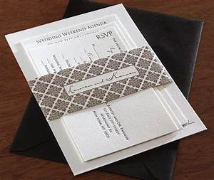 belly bands for wedding invitation designs invitations With how to make a wedding invitation belly band