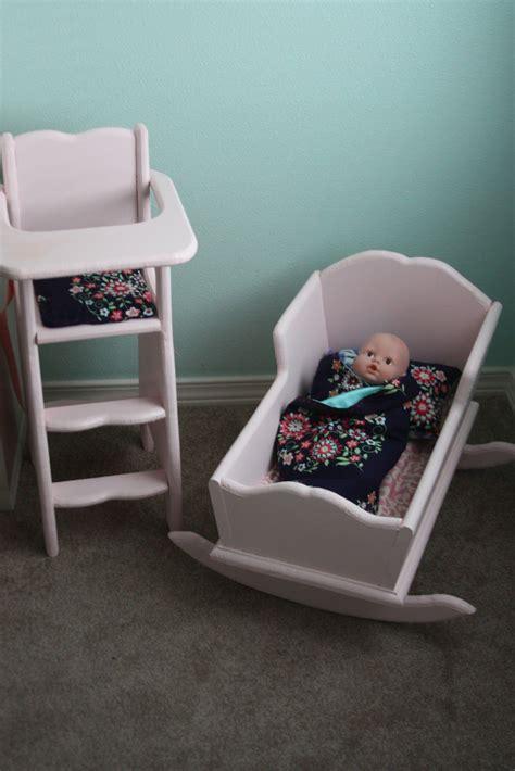 build  doll cradle  highchair beingbrook