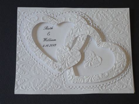 wedding invitations with hearts double wedding invitation wedding bliss pinterest