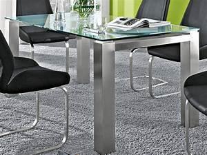 Designer Glastische Esszimmer : niehoff palma glastisch esstisch verschiedene ausf hrungen f r esszimmer neu ebay ~ Sanjose-hotels-ca.com Haus und Dekorationen