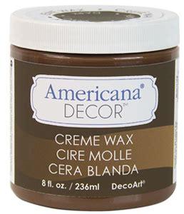 americana decor creme wax brown decor creme wax 8oz brown