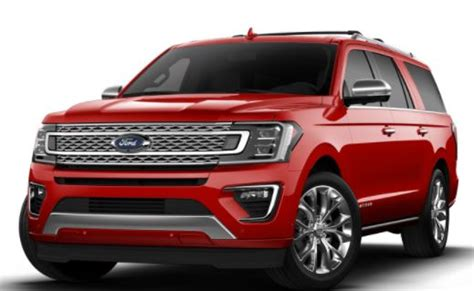 ford expedition color options