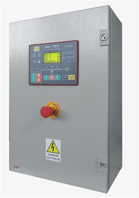 quadro  controllo gruppo elettrogeno backup generator