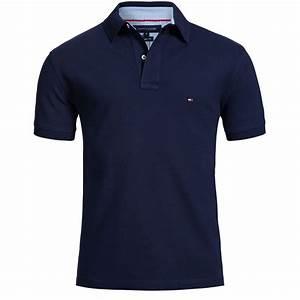 Tommy Hilfiger Polo Shirt Polo Shirt Dark Blue (Navy) | eBay