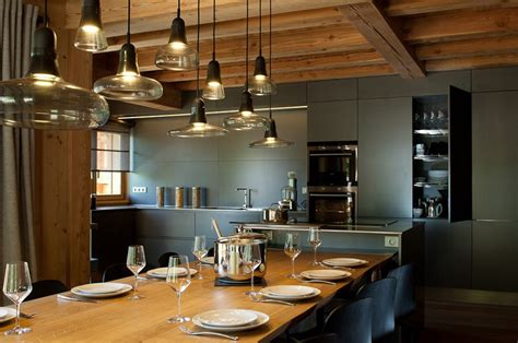 cuisine de chalet constructeur de chalet en bois de prestige chalets bayrou