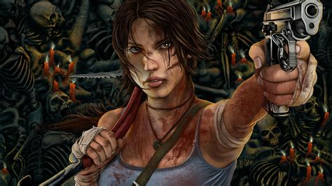 Fallout Hd Wallpaper 1080p Lara Croft Tomb Raider 12 Wallpaper Game Wallpapers 27285