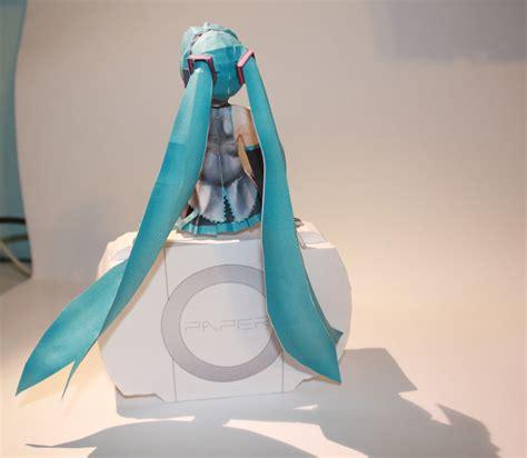 papercrafts hatsune miku