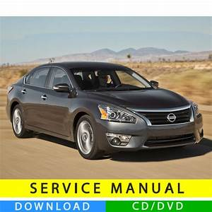 Nissan Altima Service Manual  2013