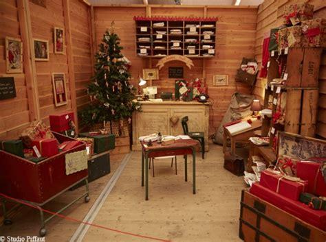 bureau du pere noel déco maison du pere noel exemples d 39 aménagements