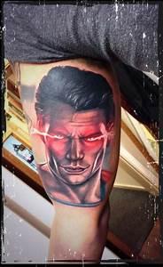 Superman Man Of Steel tattoo