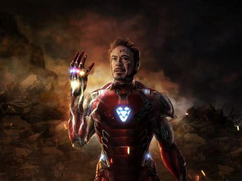 iron man  scene  avengers endgame wallpaper hd