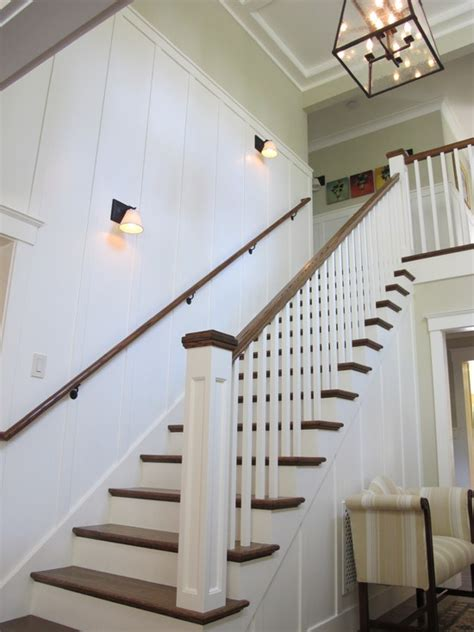 wainscoting stair design ideas pictures remodel  decor wainscoting stairs wainscoting