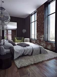 Camera da letto con parete in pietra Fotogallery Donnaclick