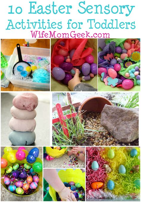 10 easter sensory activities for toddlers 148 | easter sensory activities