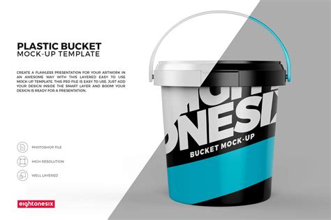 Download source download full version. 10+ Paint Bucket / Can Packaging Mockups   Decolore.Net