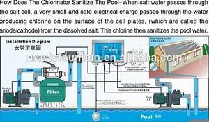 Environmental Swimming Pool Salt Water Chlorinator