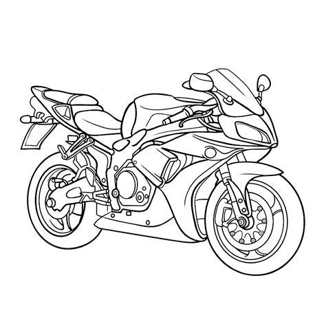 Kleurplaat Crossmotors by Leuk Voor Motor 0002