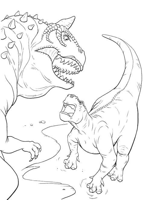dinosauri film aladar contro  carnotauro