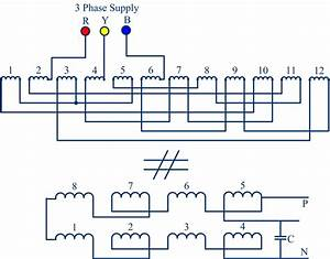 Proposed Induction Motor Winding Arrangement Working As A