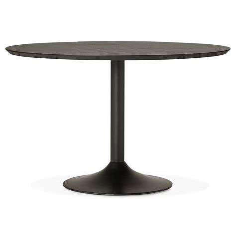 table ronde de bureau table à diner ronde chef en bois noir table de bureau