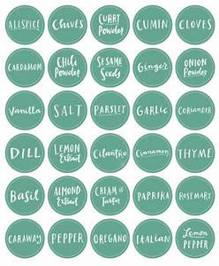 10 free printable labels for organizing living well mom for How to print your own labels at home